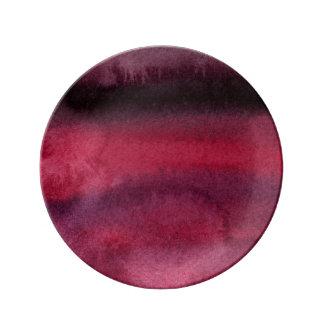 Watercolored delish... plate