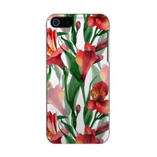 Watercolors Red Summer Lili Illustration Incipio Feather® Shine iPhone 5 Case