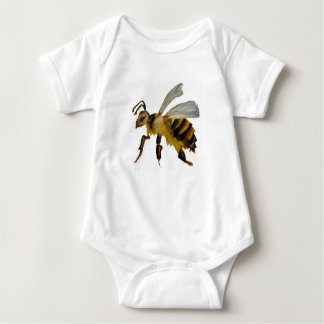 Watercolour bumble bee baby bodysuit