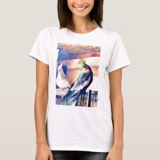 Watercolour Cockatiel T-Shirt