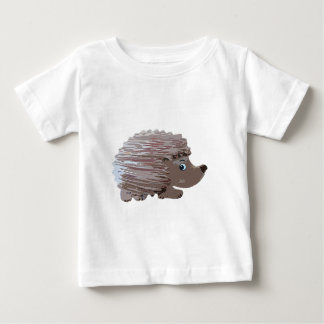 Watercolour Effect Hedgehog Baby T-Shirt