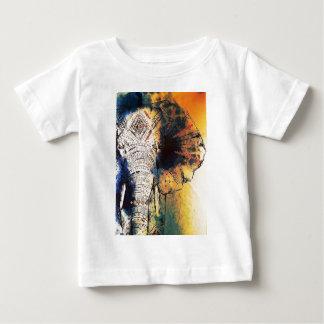 Watercolour Elephant Baby T-Shirt