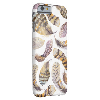 Watercolour Feathers Iphone 6 Hard Case Barely There iPhone 6 Case
