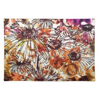 Watercolour Flowers Placemat