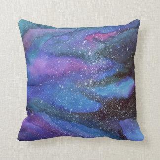Watercolour Galaxy Cushion