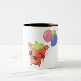 Watercolour Hamster Two-Tone Mug