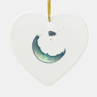 Watercolour Heart Ornament