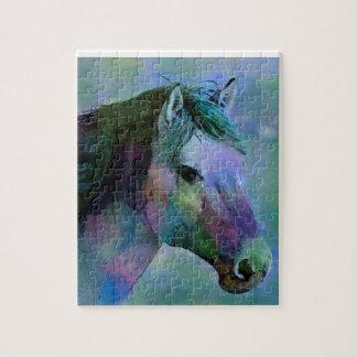 Watercolour Horse Jigsaw Puzzle