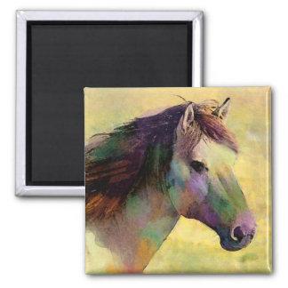 Watercolour Horse Magnet