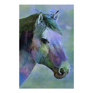 Watercolour Horse Stationery