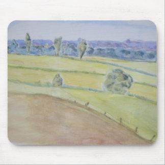 Watercolour Landscape Mousepad