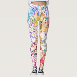 Watercolour Leggings