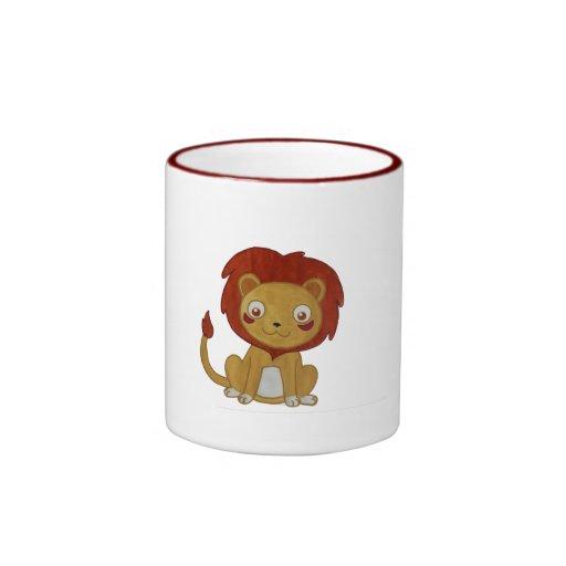Watercolour Lion Coffee Mugs