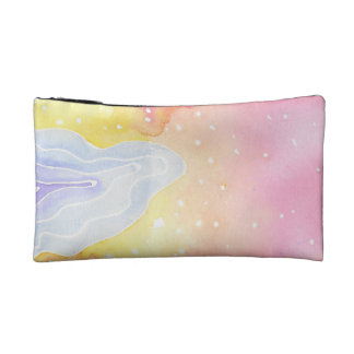 Watercolour Marble Makeup Bag