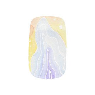 Watercolour Marble Minx Nail Art