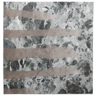 Watercolour marble napkin