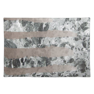 Watercolour marble placemat