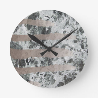 Watercolour marble wallclock