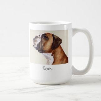 Watercolour Painting of a Boxer Dog mug