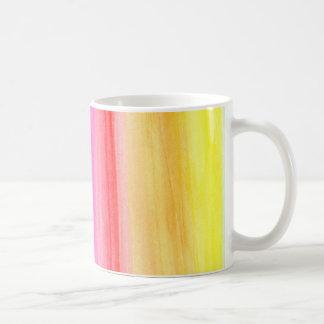 Watercolour Rainbow Mug Basic White Mug