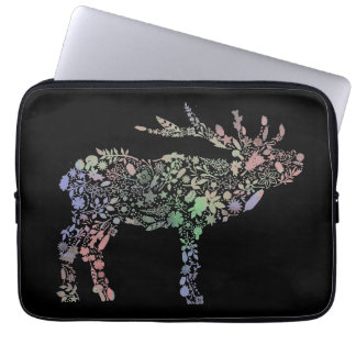 Watercolour Reindeer Laptop Sleeve