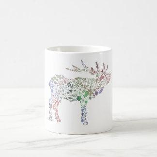 Watercolour Reindeer Coffee Mugs