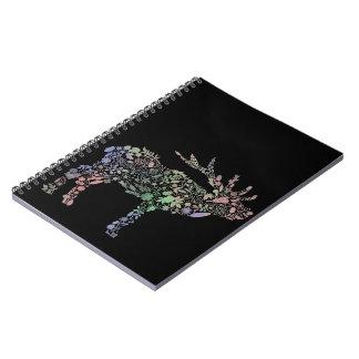 Watercolour Reindeer Notebooks