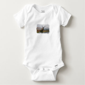 Watercolour Stag Baby Onesie