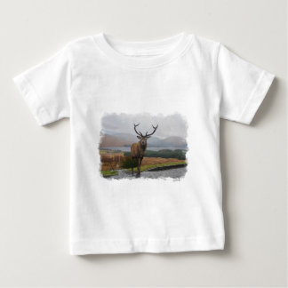 Watercolour Stag Baby T-Shirt