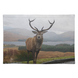 Watercolour Stag Placemat