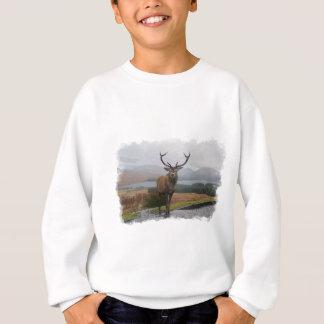 Watercolour Stag Sweatshirt