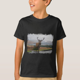 Watercolour Stag T-Shirt