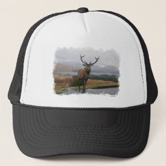 Watercolour Stag Trucker Hat