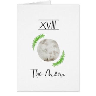 Watercolour Tarot Moon Greetings Cards