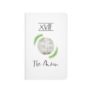 Watercolour Tarot Moon Pocket Journal