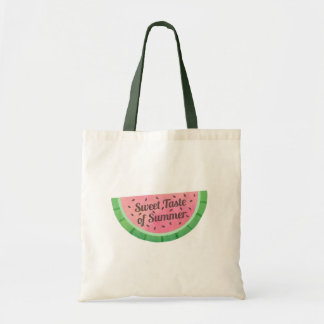 Watercolour Taste of Summer Watermelon Tote Bag