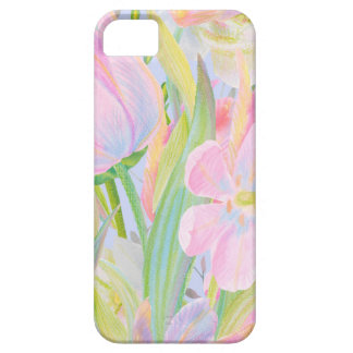 Watercolour tulip iphone case