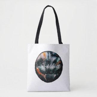 Watercolour Wanderlust Tote Bag