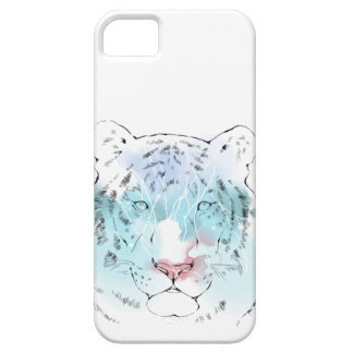 Watercolour White Tiger Case Case For The iPhone 5
