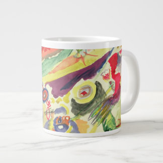 Watercolour with a Red Stain, 1911 Giant Coffee Mug