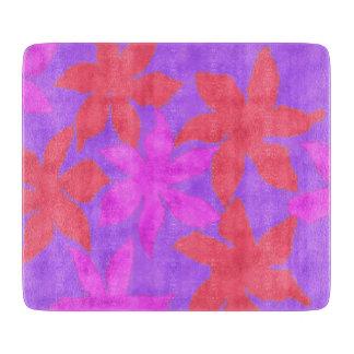 Watercolour world cutting board