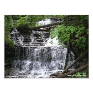 Waterfall 2 photographic print