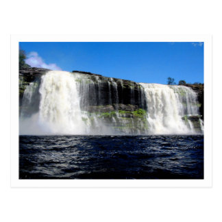 Waterfall 4 Venezuela Jungle Landscape Fine Art Postcard