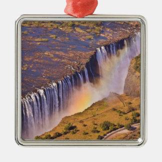 WATERFALL AFRICA ZAMBIA CHRISTMAS ORNAMENT