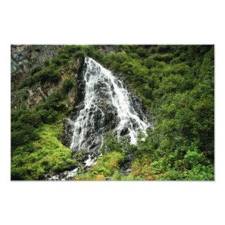 Waterfall Alaska Photo Print