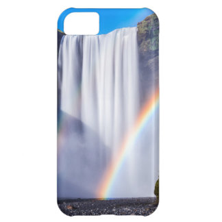 Waterfall and rainbow iPhone 5C case