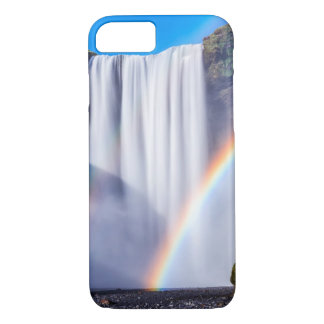 Waterfall and rainbow iPhone 8/7 case