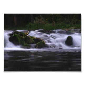 Waterfall at Bennett Spring Art Photo