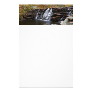 Waterfall at Laurel Hill State Park I Customised Stationery