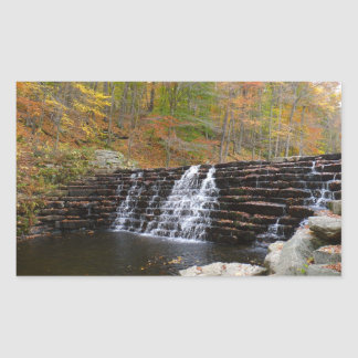 Waterfall at Laurel Hill State Park Sticker